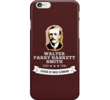 Walter Smith Father Rock Climbing iPhone Case/Skin