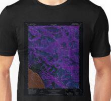 USGS TOPO Map California CA Big Sur 288416 1956 24000 geo Inverted Unisex T-Shirt