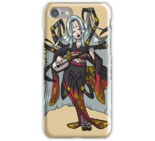 Spider Yokai Jorōgumo MONSTER GIRLS Series I iPhone Case/Skin
