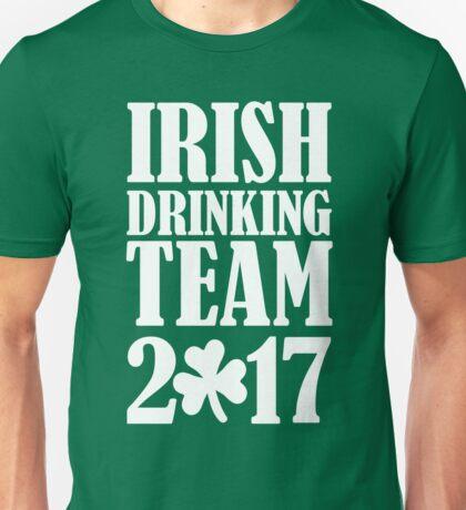 Irish drinking team 2017 Unisex T-Shirt