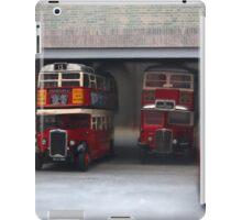 London Bus Station iPad Case/Skin