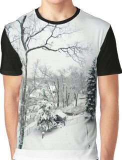 Winter's Day Graphic T-Shirt