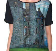 Newark Castle, Port Glasgow. Chiffon Top