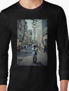 Akihabara - Electric Town Long Sleeve T-Shirt