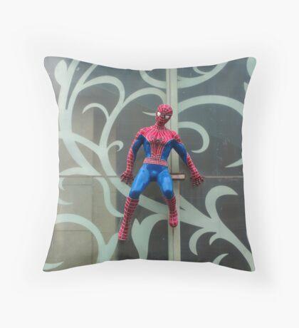 Spiderman superhero  Throw Pillow