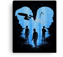 Final Frontier Canvas Print