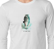All Night stand - Owl Long Sleeve T-Shirt