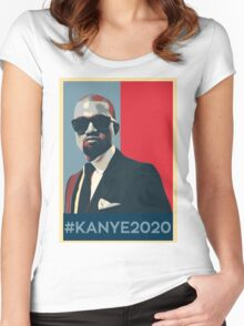 KANYE 2020  Women's Fitted Scoop T-Shirt