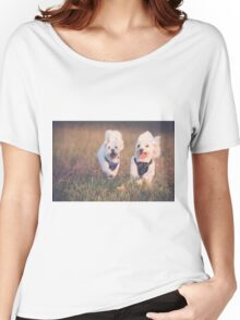 Puppy Fun Women's Relaxed Fit T-Shirt
