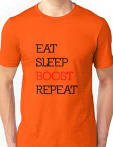 Eat Sleep Boost Repeat Unisex T-Shirt
