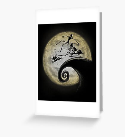 Nightmare Before Grinchmas Greeting Card