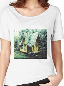 Hut In The Forest Women's Relaxed Fit T-Shirt