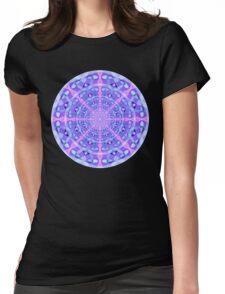 Temporal Warp Mandala Womens Fitted T-Shirt