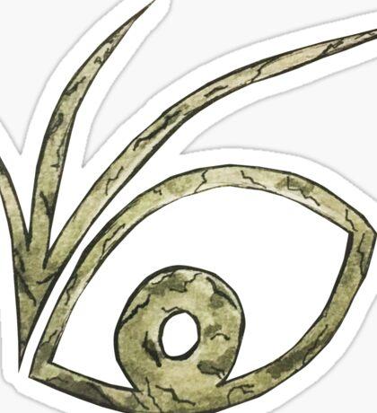 A Series of Unfortunate Events Eye Logo Sticker