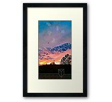 Tmble & Mrge Framed Print