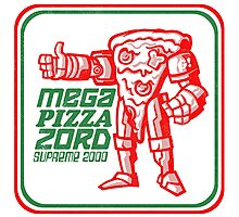 MEGA PIZZA ZORD SUPREME 2000 Photographic Print