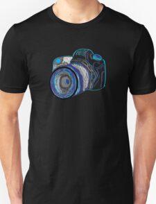 Neon Camera Unisex T-Shirt