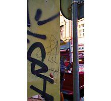 Child Graffiti Photographic Print