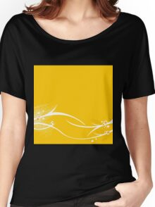 Yellow Wallpaper Women's Relaxed Fit T-Shirt