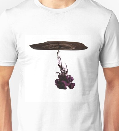 Ink in water Unisex T-Shirt