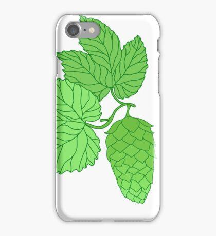 Humulus lupulus iPhone Case/Skin