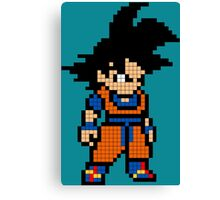 Goku 8MB Canvas Print