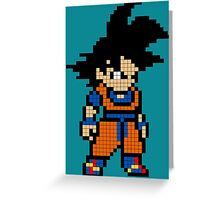 Goku 8MB Greeting Card