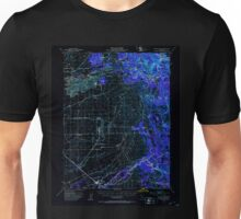 USGS TOPO Map California CA Wheatland 301972 1949 62500 geo Inverted Unisex T-Shirt