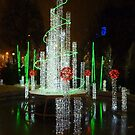Festive fountain by bubblehex08