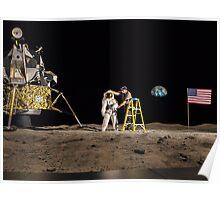 NASA Lies Moon Hoax Poster