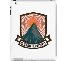 Rock Climbing Enlightenment iPad Case/Skin