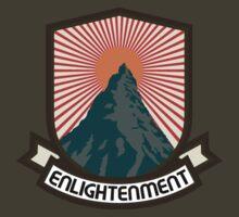 Rock Climbing Enlightenment by SportsT-Shirts