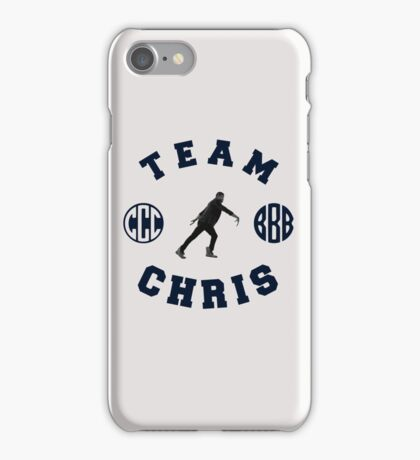 Team Chris  iPhone Case/Skin