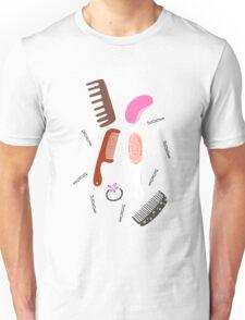 MARI'S HAIR BRUSH COLLECTION Unisex T-Shirt