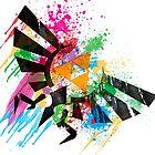 Hylian Paint Splatter by cluper