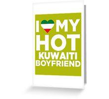 I Love My Hot Kuwaiti Boyfriend Kuwait Native T-Shirt Greeting Card