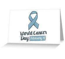 Cancer Day Greeting Card