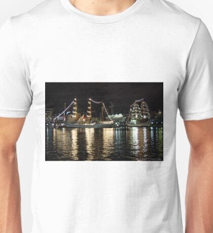 Tall Ships, Port Of Baltimore Unisex T-Shirt