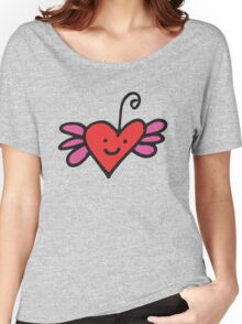 Coeur ami • Friendly Heart Women's Relaxed Fit T-Shirt