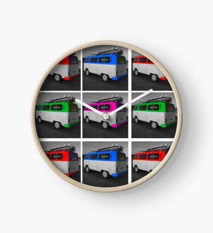 VW bus Clock