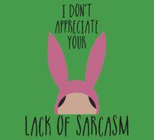 I Don't Appreciate Your Lack Of Sarcasm Kids Clothes