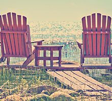 Relaxing muskoka chairs by melissasteep