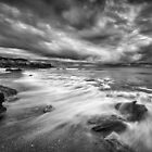 Eco Beach Stormclouds by Mieke Boynton