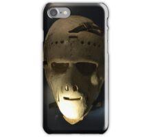 Vintage hockey mask iPhone Case/Skin