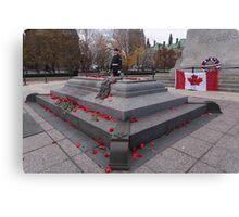 Canadian War Memorial in Ottawa, Canada Canvas Print