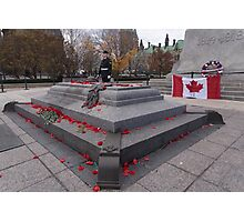 Canadian War Memorial in Ottawa, Canada Photographic Print