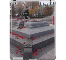 Canadian War Memorial in Ottawa, Canada iPad Case/Skin