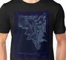 USGS TOPO Map California CA Shasta Valley Sheet No 8 295164 1922 24000 geo Inverted Unisex T-Shirt