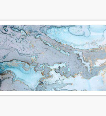 Blue Granite Sticker