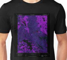 USGS TOPO Map California CA Wilson Valley 301395 1958 24000 geo Inverted Unisex T-Shirt
